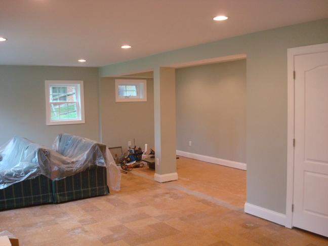 Basement After Paint