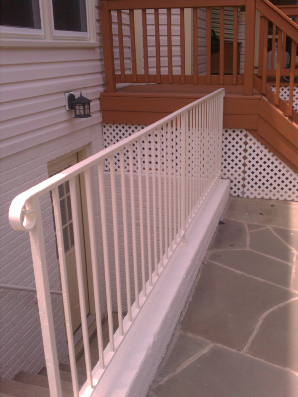 Railing After Paint