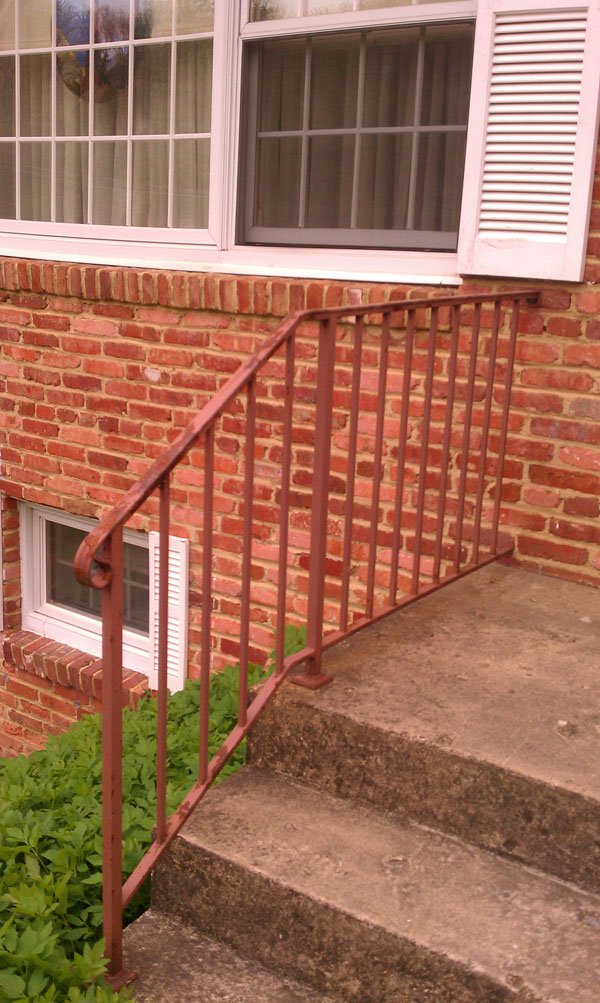 Railing Before Paint