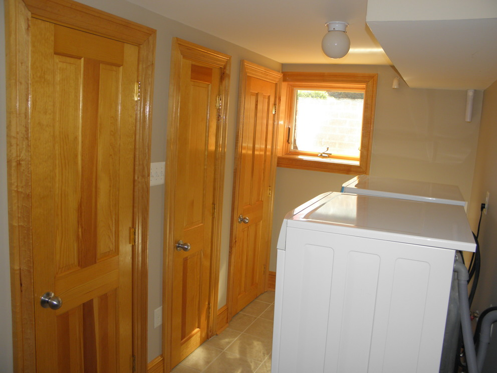 Doors After Stain