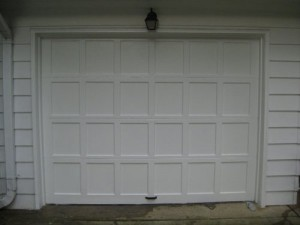 Garage Door After Painting
