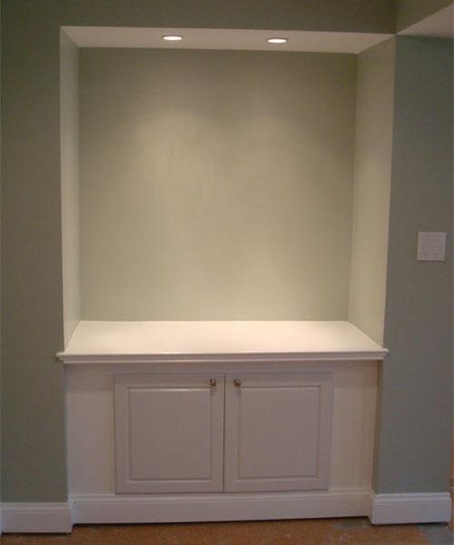 In Wall Shelf & Cabinet