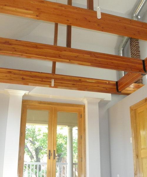 Hardwood Stained
