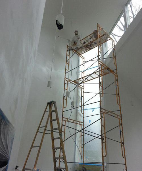 Large Interior Paint Job