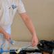 Preparing a Paint Roller