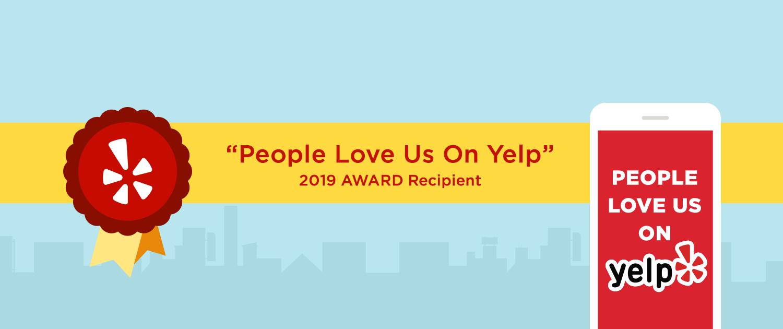 2019 Yelp Award Patricks Painting